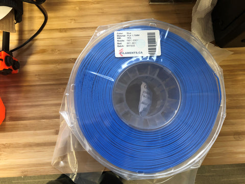 Blue PLA 1.75MM 1KG Roll