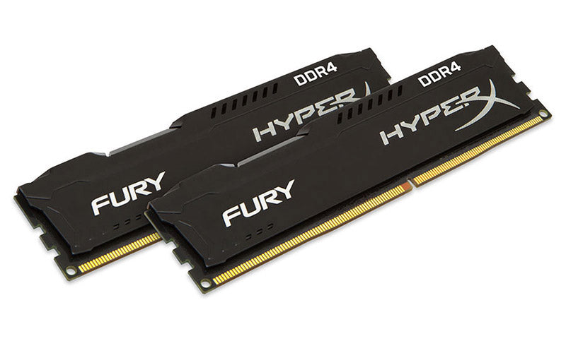 Kingston 16GB (2x8GB) DDR4 2400Mhz HyperX Fury Black Memory Kit