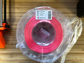 Silk Red PLA 1.75MM 0.5KG Roll