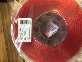 Transparent Red PLA 1.75mm 1KG Roll