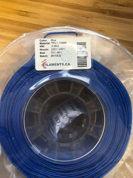Blue TPU 1.7MM 0.5KG Roll