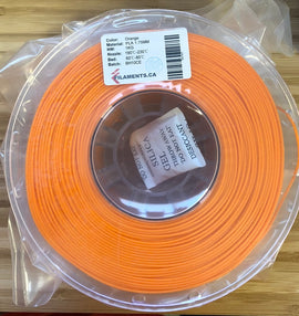 Orange PLA 1.75MM 1KG Roll
