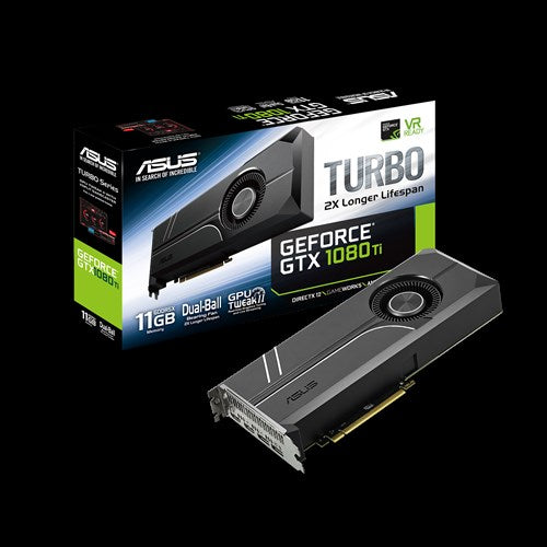 Asus GTX Turbo 1080 Ti, 11GB, PCI-E 3.0 Video Card