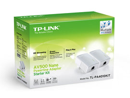 TP-Link TL-PA4010KIT AV600 Nano Powerline Extender Kit