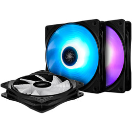 DeepCool RF120 3-in-1 RGB Cooling Fans (3 Pack)