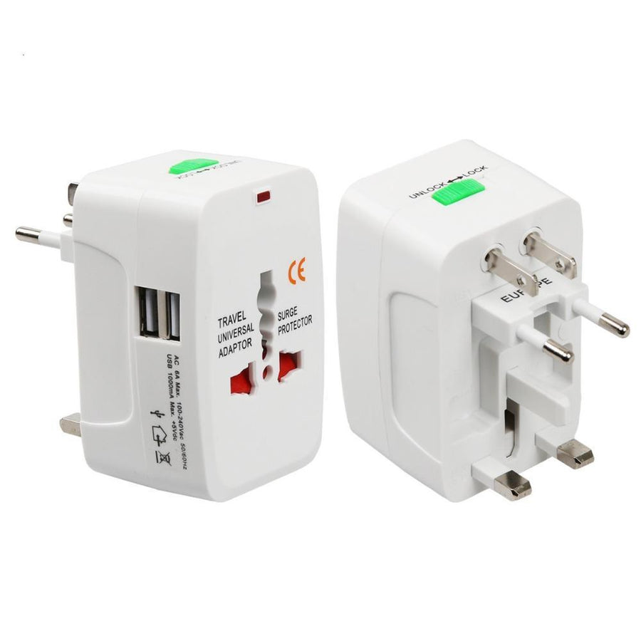 Universal All-In-One AC Travel Power Adapter