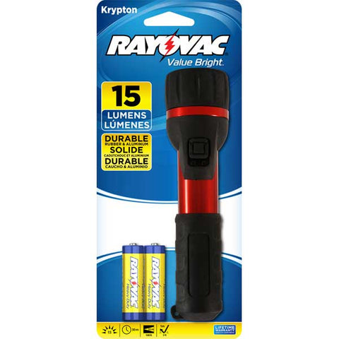 Rayovac Krypton 15 Lumens Flashlight