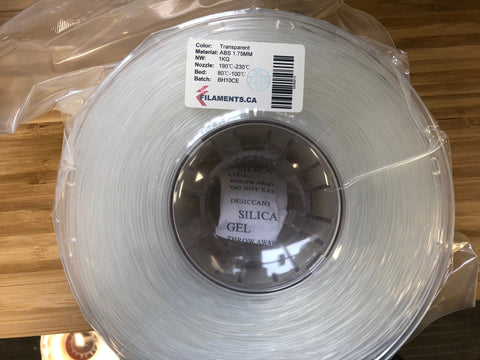Transparent ABS 1.75MM 1KG Roll