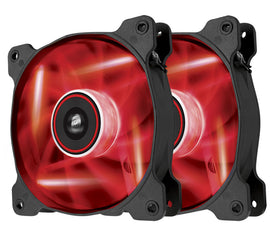 Corsair AF120 Quiet Edition Red (Twin Pack)