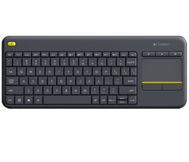 Logitech K400 Plus TV Keyboard w/ TouchPad