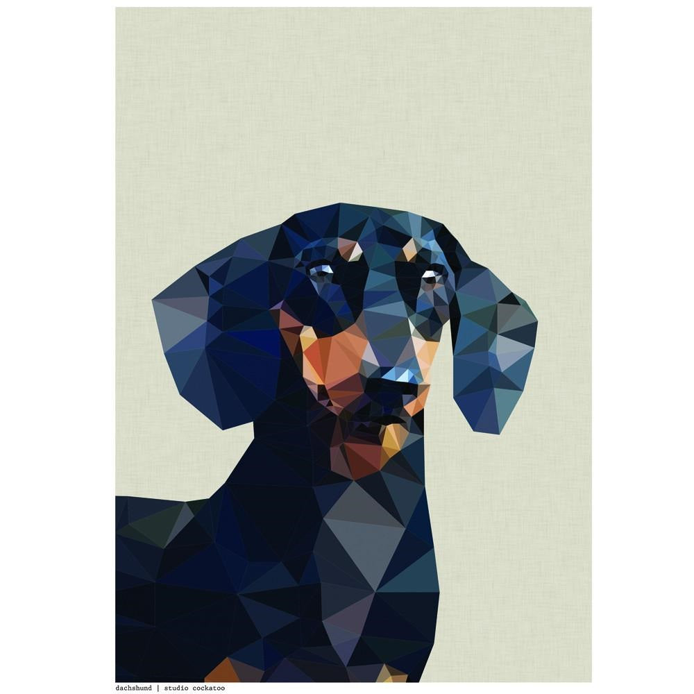 Dachshund greeting card baltic shop m4hsunfo