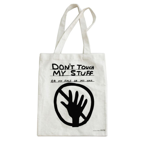 295dc24053f7 David Shrigley Don t Touch My Stuff Tote Bag + Quick Shop