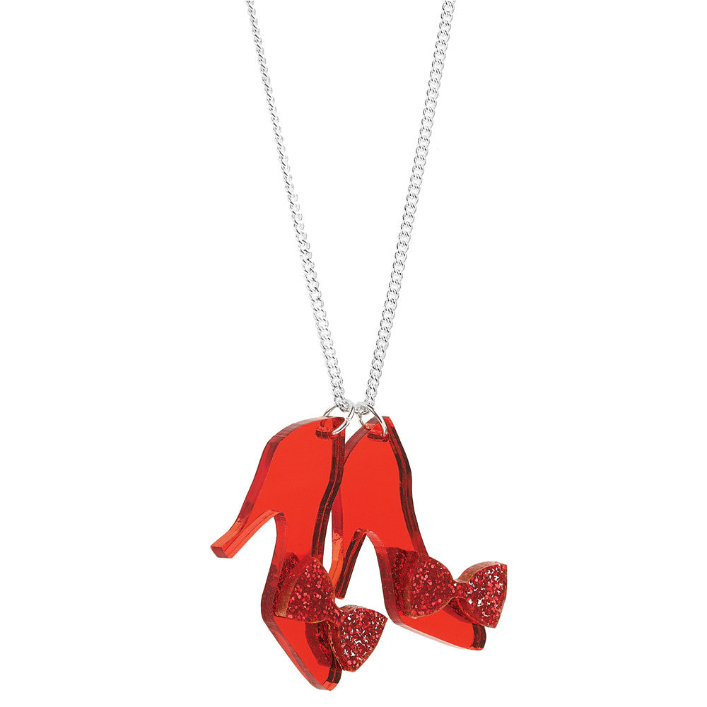 tatty devine ruby slipper necklace baltic shop