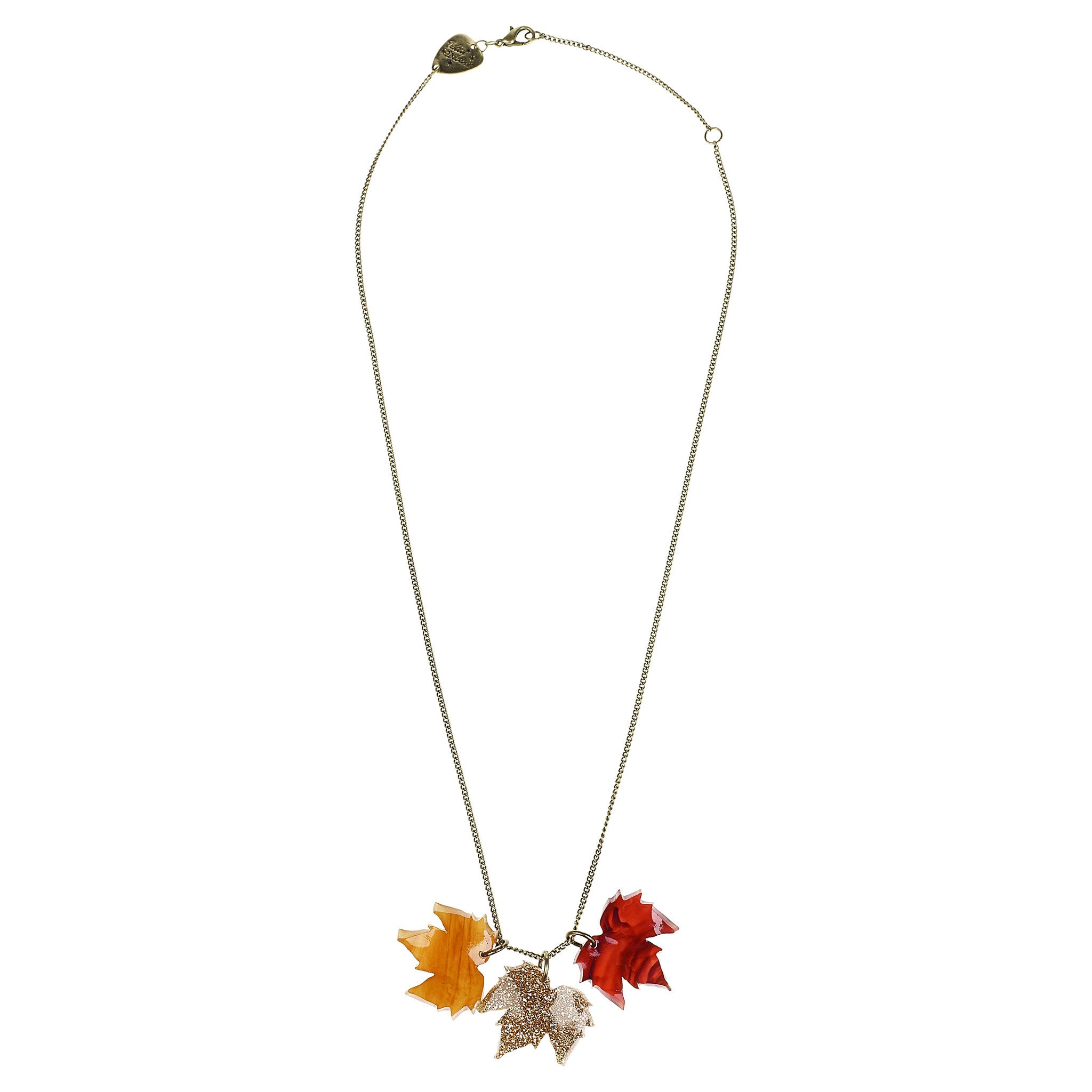 shop leaves p cooper whitegold necklace l hewitt