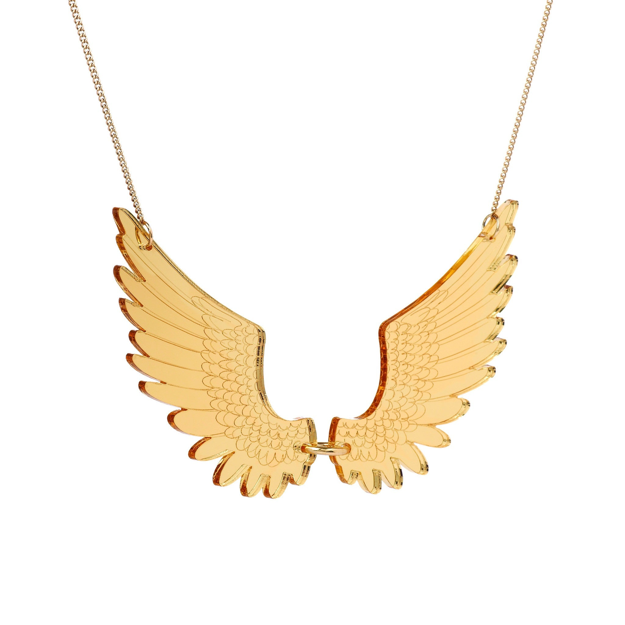 tatty devine pegasus necklace baltic shop