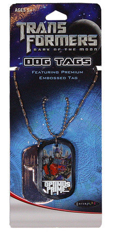 Transformers Dog Tags Premium 2-Tag Blister
