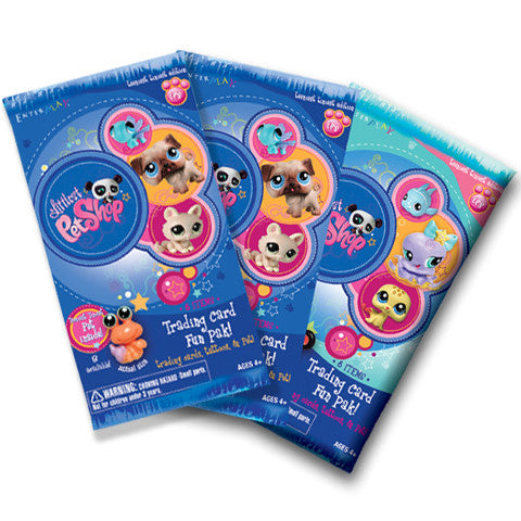 LPS Trading Card Fun Paks Teeniest Edition