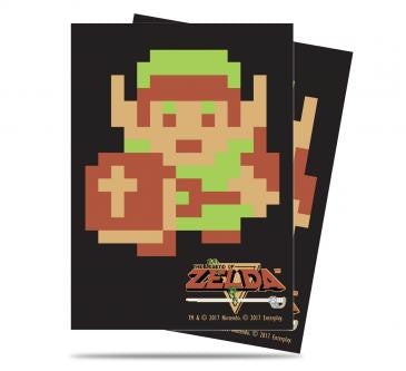 Zelda Card Sleeves - 8-bit Link