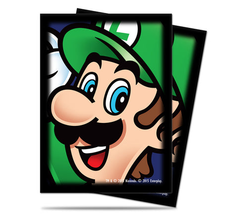 Super Mario Card Sleeves - Luigi