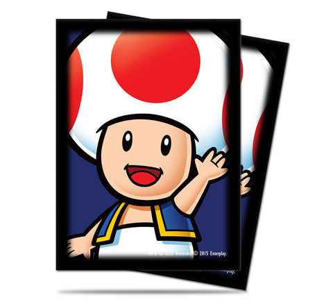 Super Mario Card Sleeves - Toad