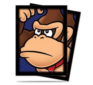 Super Mario Card Sleeves - Donkey Kong