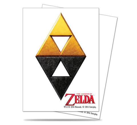 Zelda Card Sleeves - Tri-Force