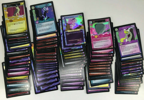 MLP CCG Absolute Discord Factory Complete Set + Bonus Cards