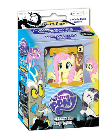 "MLP CCG Absolute Discord ""Unlikely Duo"" Theme Deck - Fluttershy"