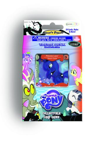 "MLP CCG Absolute Discord ""Double the Fun"" Theme Deck - Princess Luna"