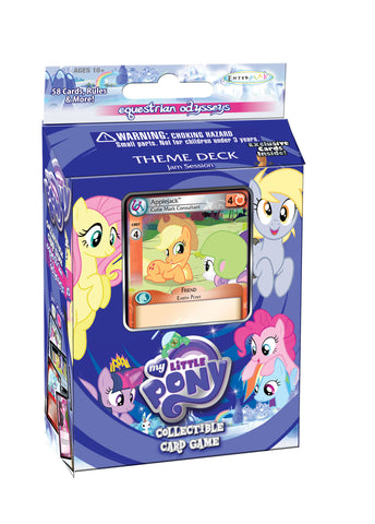 "MLP CCG Equestrian Osysseys Theme Deck ""Takin' Care of Business"" - Applejack"