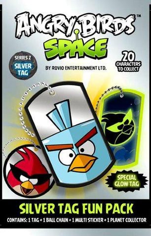Angry Birds Space Dog Tag Pack