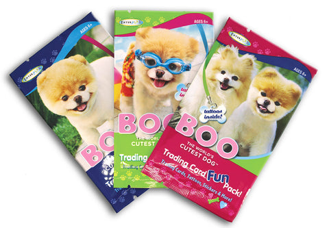Boo the World's Cutest Dog Trading Card Fun Packs