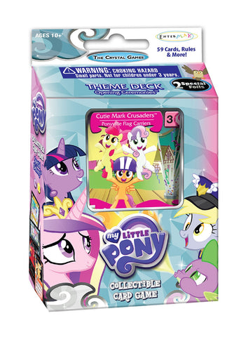 "MLP CCG Crystal Games ""Opening Ceremonies"" Theme Deck - Cutie Mark Crusaders"