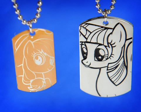 MLP Deluxe Dog Tag & Mini Tag Set (from Series 1)