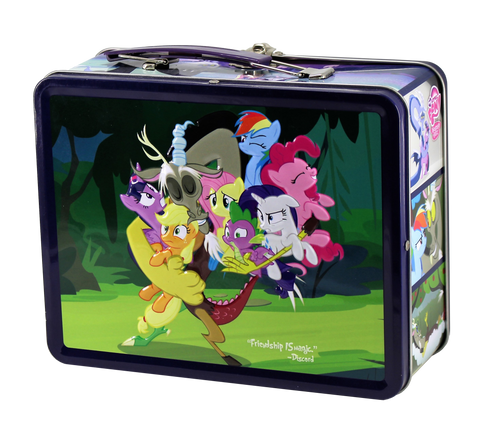 MLP Tin - Discord - stuffed with collectible fun! - EnterplayStore com