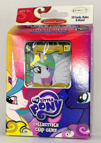 MLP CCG Canterlot Nights Theme Deck- Princess Celestia (Specialty version)