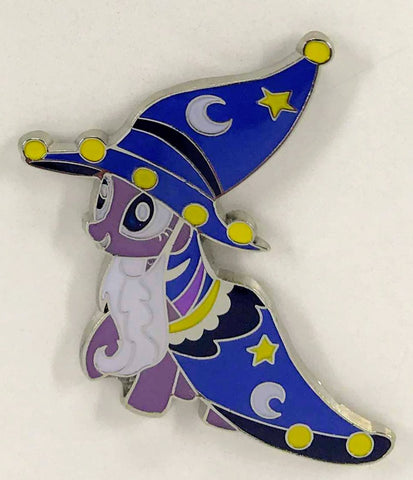 MLP Pin - Twilight Sparkle dressed as Starswirl The Bearded