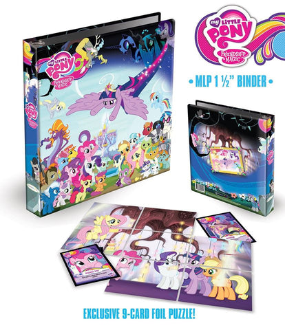 MLP Binder (Series 3) including 9-Card Puzzle