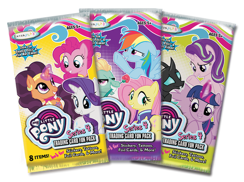 MLP Series 4 Trading Card Fun Packs