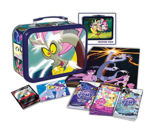 MLP Tin - Discord - stuffed with collectible fun!