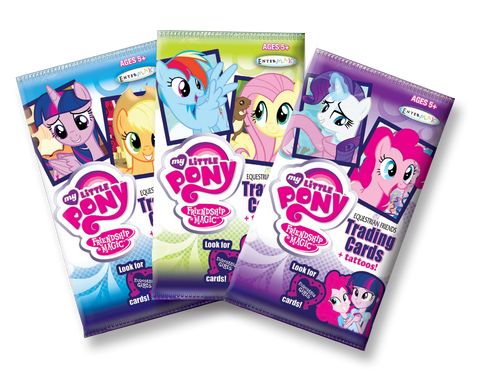 MLP Equestrian Friends Trading Card Value Packs