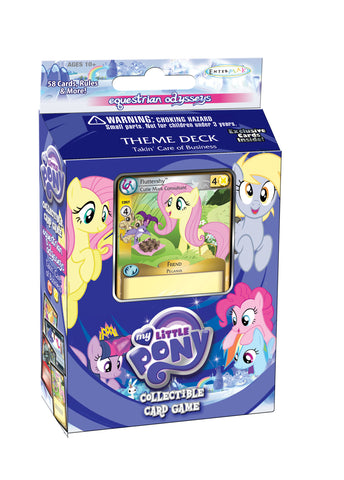 "MLP CCG Equestrian Odysseys Theme Deck ""Takin' Care of Business"" - Fluttershy"