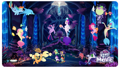 MLP Movie Play Mat plus Bonus Foil Card - Throne Room