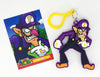Super Mario Hanger with Trading Card Blind Bag
