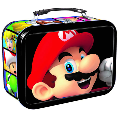 Super Mario & Luigi (3-D) Tin with trading cards & lots of fun!