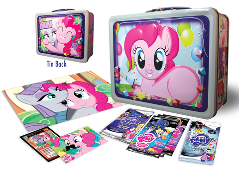 MLP Tin - Pinkie Pie & Maud Pie - stuffed with collectible fun!