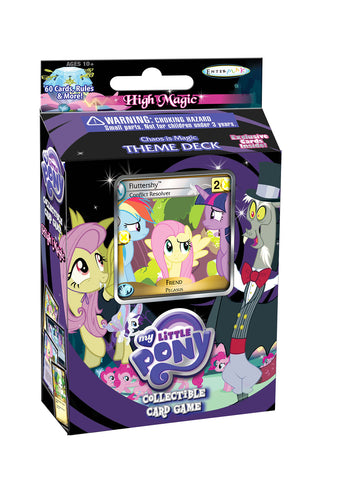 "MLP CCG High Magic ""Chaos is Magic"" Theme Deck - Fluttershy"