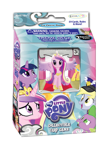 "MLP CCG Crystal Games ""Opening Ceremonies"" Theme Deck - Princess Cadance"