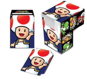 Super Mario Deck Box - Toad