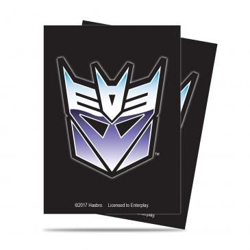 Transformers Card Sleeves - Decepticon Mask